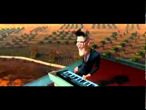 Monsters vs Aliens - President Playing Keyboard