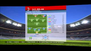 Pes 2016 Ac Milan maser League Season 2017-18