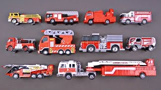 Best Learning Fire Trucks, Fire Engines for Kids - #1 Hot Wheels, Matchbox, Tomica トミカ Toy Cars
