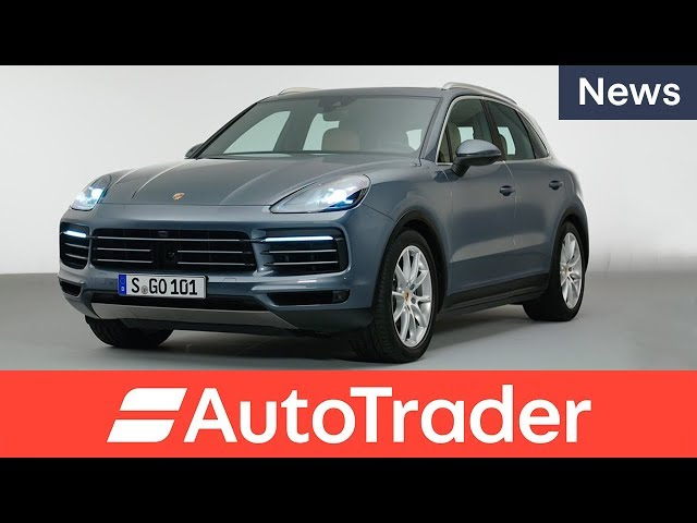 All-new 2018 Porsche Cayenne first look