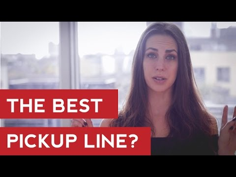 The Best Pickup Line? Men's Dating Advice - Hayley Quinn