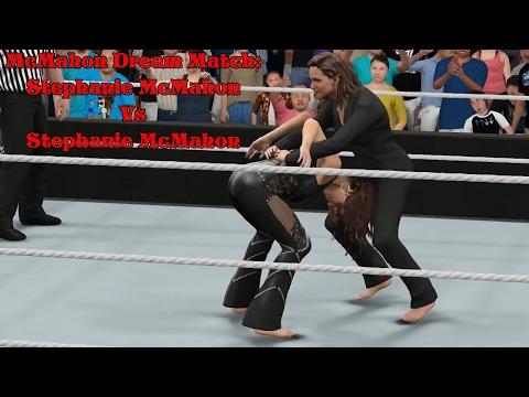 Xxx Mp4 McMahon Dream Match Stephanie McMahon Vs Stephanie McMahon WWE2k17 PC Barefoot Match 3gp Sex