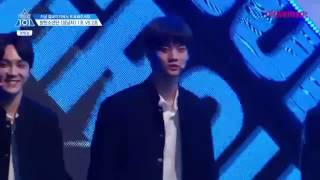 [PRODUCE 101] GROUP BATTLE (BTS - BOY IN LUV) Avengers team.