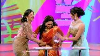 Onnum Onnum Moonnu | Nikki Galrani & Sanjjanaa Galrani | Mazhavil Manorama