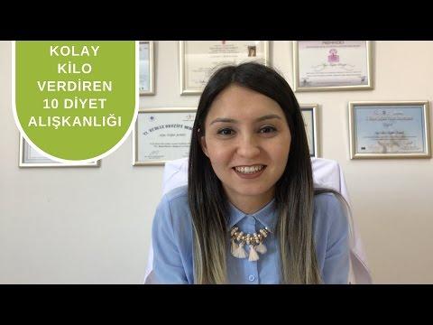 Kolay Kilo Vermek için 10 Diyet Alışkanlığı - Diyetisyen Ayşe Tuğba Şengel