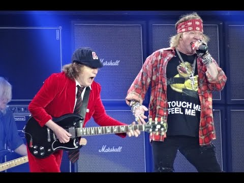 Download AC/DC and Axl Rose - BACK IN BLACK HD - Ceres Park, Aarhus, Denmark, June 12, 2016