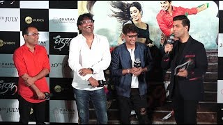 Karan Johar Launches Hindi Version of Zingaat at Trailer Launch of Dhadak