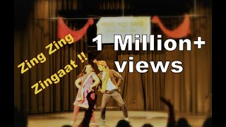 Zingaat dance by Shoeb & Rashmi at Marathi Katta, Frankfurt, Germany