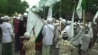 Pawai Siar Sholawat Berjalan MT.Syarif Hidayatullah Di Lokasi Basis Wahabi Indramayu.2009