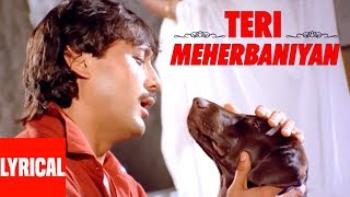 Teri Meherbaniyan Title Track Lyrical Video | Jackie Shroff, Poonam Dhillon