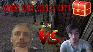 Knight Online Manes 100x Kırmızı Kutu Yaşar Amca Biz Burdayız