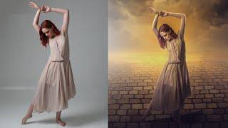 Photoshop CC Manipulation Tutorials Photo Effects | Change Remove Background