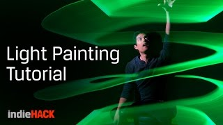 Light painting tutorial - Camera settings for creative photos - Kingston indieHACK Ep. 4