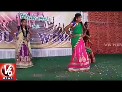 Xxx Mp4 Freshers Day Celebrations In Private College Students Dance Performance For V6 Songs V6 News 3gp Sex