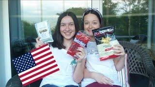 Ablamla Amerika Abucuburlarını Tadıyoruz | Tuzlu Çikolata,Tatlı Cips...