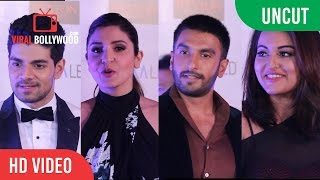 UNCUT - 61st Britannia Filmfare Awards 2016 | 'Pre Party Awards' | Ranveer | Anushka | Sonam & more