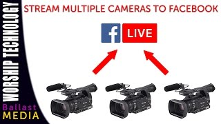 Stream on Facebook Live from an ATEM switcher