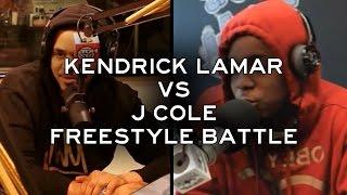 Kendrick Lamar vs. J Cole - The Freestyle Battle [HD]