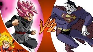 GOKU BLACK vs BIZARRO (Dragon Ball Super vs DC Comics) Cartoon Fight Club Episode 168 REACTION!!!