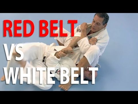 White belt challenges Grandmaster Relson Gracie