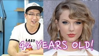 Korean Youtubers Guess Western Celebrity Ages