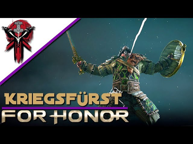 For Honor - Kriegsfürst vor dem Patch - Gameplay Let's Play Deutsch