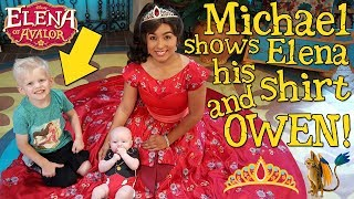 Michael's Hide & Seek Game with Elena of Avalor!