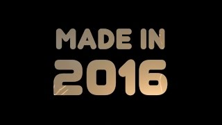 Made in 2016 (Year-end Mashup featuring 45 Pop Songs)