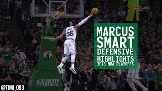 Marcus Smart Defensive Highlights 2018 NBA Playoffs