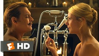 Mortdecai (10/10) Movie CLIP - I Deeply Love My Mustache (2015) HD