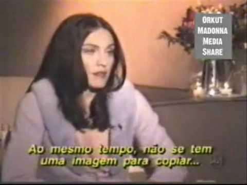 Madonna dando coices em Marilia Gabriela