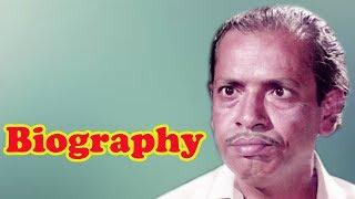 Keshto Mukherjee - Biography