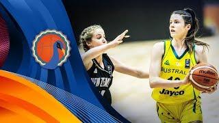Australia v New Zealand - First Half - FIBA U16 Women