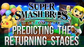 Predicting the Returning Stages - Super Smash Bros Ultimate