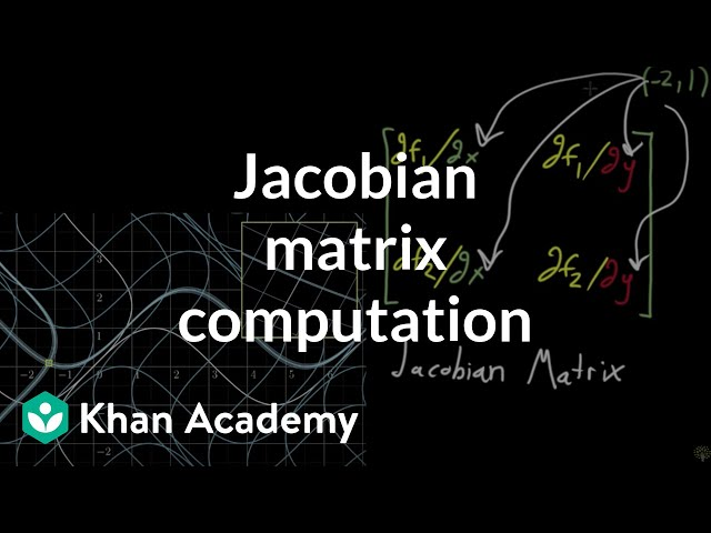 Computing a Jacobian matrix
