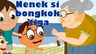 Lagu Kanak Kanak Melayu Malaysia | Nenek Si Bongkok Tiga