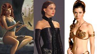The Hottest Star Wars Women