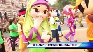 UMMI joins Merdeka Parade 2015! #SehatiSejiwa
