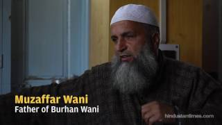 An interview with Burhan Wani's father