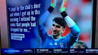Alireza Beinarvand Iranian goalie stopped Ronaldo's penalty kick