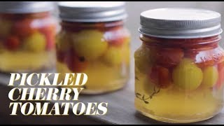 How to Make Pickled Cherry Tomatoes
