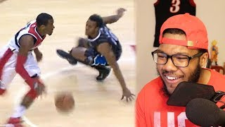 NBA GREATEST ANKLE BREAKERS of ALL TIME! I'M LITERALLY IN TEARS! REACTION!!