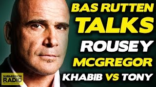 Bas Rutten on How Ronda Rousey Can Find Success After UFC 207 Loss
