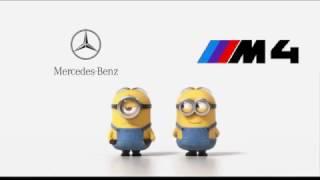BMW M4 vs Mercedes - Drifting (Minion Style)