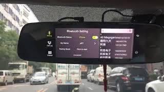 Car Mirror Dual Camera GPS 4G Bluetooth HD Video Recorder And Night Vision