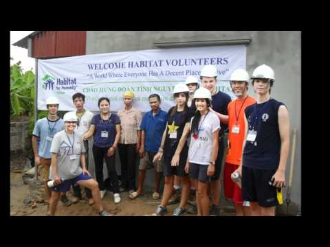 Habitat for Humanity Build Trip to Hai Duong - UNIS Team