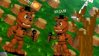FNAF World Multiplayer Edition Gameplay Alpha 0.0.4