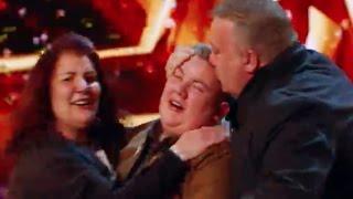 Kyle Gets DAVID GOLDEN BUZZER | Audition 6 | Britain
