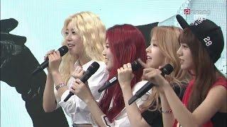 걸스데이 마카롱 Macaron 짧은 라이브 150714 걸스데이 ASC Girl's Day Live Sojin Yura Minah Hyeri