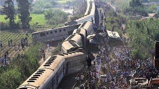 Train Accident खतौली मुज़फ्फरनगर मे हुआ साल का सबसे बड़ा रेल हादसा / FM News 2017